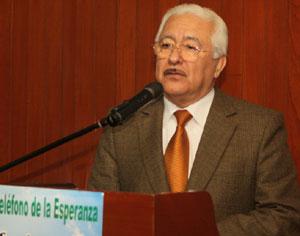 Rector, Dr. Luis Cervantes Liñán