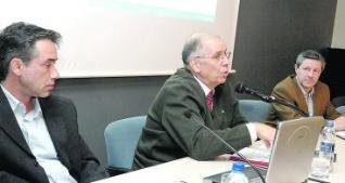 Chema Sánchez, Alejandro Rocamora e Hilario Paz